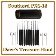 Southord PXS-14 Piece Lock Pick Set   -    UPC: 700535249553 #Southord