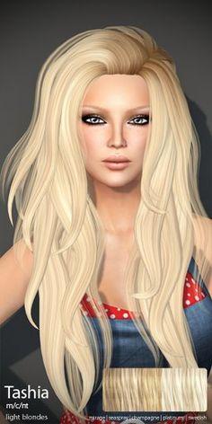 TRUTH HAIR Tashia (Mesh Hair) - light blondes