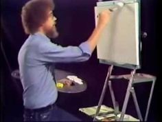 Footage of Bob Ross Explaining His Methods in The First Episode of The Joy of Painting http://shar.es/EA9l5 - A must see!
