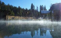 Idaho has an array of hot springs and mineral pools in both resorts and in the natural environment, which are open for the public to enjoy. Places To Travel, Places To See, Idaho Hot Springs, Mccall Idaho, Spring Resort, Boise Idaho, Wanderlust Travel, Pacific Northwest, The Good Place