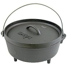 Lodge Cast Iron 4 Quart Camp Dutch Oven L10CO3 by Lodge Cast Iron  for $39.99 in Housewares : Rural King