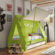 Bem Legaus!: Cama de barraca