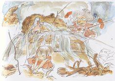 Sketches ( Spirited Away ) | Hayao Miyazaki ( Studio Ghibli )