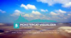 Monstercat Visualizer for Rainmeter 1.2.1 by MarcoPixel.deviantart.com on @DeviantArt