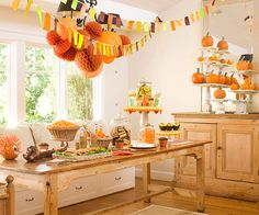 Host a Halloween Harvest Party this year! See the party details here: http://www.bhg.com/halloween/parties/halloween-harvest-party/