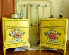 1000 images about muebles restaurados on pinterest - Muebles restaurados vintage ...
