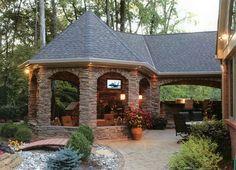 Outdoor kitchen by Rainie30