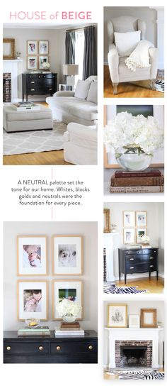 Abby Larsons Home (the Before) + Domino Magazine... House of Beige. Wait 'til you see the after! http://www.stylemepretty.com/living/2014/03/10/abby-larsons-home-the-before-domino-magazine/