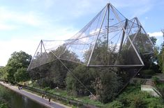 Snowdon Aviary - London Zoo - Cedric Price, Frank Newby, Lord Snowdon - 1961