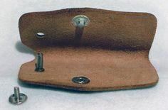 Vintage Ford Leather Key Holder