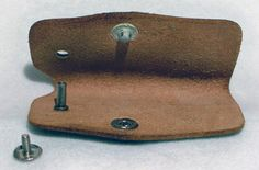 Vintage Ford Leather Key Holder