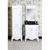 """Found it at Wayfair.ca - WB 30"""" Single Bathroom Vanity Set with Linen Tower and Mirror"""