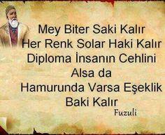 Fuzuli - Casper - #Casper #Fuzuli Happy Quotes, Best Quotes, Good Sentences, Wife Quotes, Friend Quotes, Favorite Words, Meaningful Quotes, Birthday Quotes, Cool Words