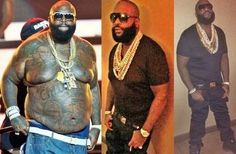 Rick Ross credits CrossFit workouts and a healthier diet for his stunning 100-pound weight loss over 7 months.