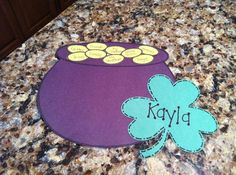 Patrick's Day Pot of Gold Craft for Kids and Bulletin Board Idea Daycare Crafts, Crafts For Kids, Diy Crafts, Daycare Bulletin Boards, Door Displays, Pot Of Gold, St Patricks Day, Preschool, Rainbow