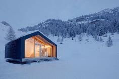 Tucked away on the mountain side away from the madness. Just how we like it.  #elevatedliving #alpinemodern