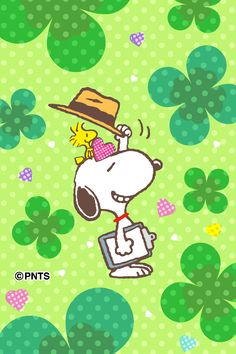 Snoopy Images, Snoopy Pictures, Peanuts Cartoon, Peanuts Snoopy, Peanut Pictures, St Patricks Day Wallpaper, Snoopy Und Woodstock, Snoopy Wallpaper, Snoopy Quotes