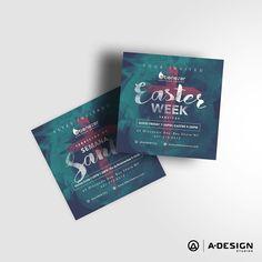 #Easter invite #graphicartist #graphicdesign #typography #type #postcard #design #church #illustrator #illustration #creative #creativity #art #artist