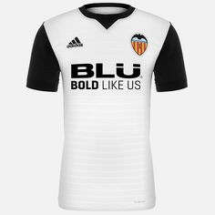 Valencia CF 17-18 Home Kit Released - Footy Headlines