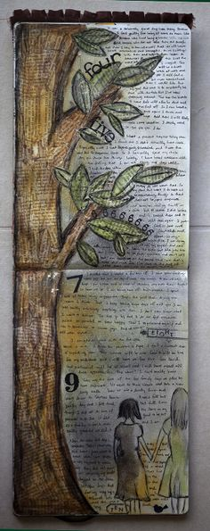 karenika art journal page