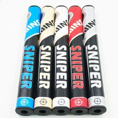 New SNIPER Golf grips High quality PU Golf putter grips 5 colors in choice 5 pcs/lot Golf clubs grips Free shipping