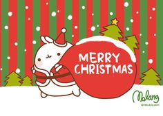 Merry Christmas, by Molang  http://www.facebook.com/molangfrance