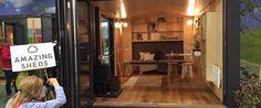 Amazing sheds! Extra woonruimte dankzij gezellige cottages