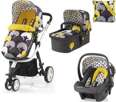 Brand new Cosatto Giggle 2 Hold 3 in 1 Travel System in Moonwood With Car Seat