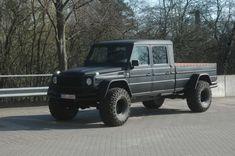 Monster Mercedes-Benz G-Wagen Pick Truck Conversion - Carscoop