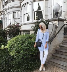 Headed out for errands. Hijab Fashion Summer, Abaya Fashion, Muslim Fashion, Modest Fashion, Fashion Outfits, Modest Summer Outfits, Modest Dresses, Modest Wear, Modest Clothing