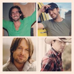 Ohhhhh...the men of country music! <3 Oh! and their music is great too! :)