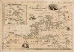 Chart Showing the Recent Search for a North-West Passage. Also the Coast Explored in Search of Sir John Franklin between the Years 1848 and 1854 - Barry Lawrence Ruderman Antique Maps Inc.