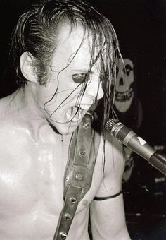 Jerry Only of the misfits, 1983 Picture taken by Kevin Salk