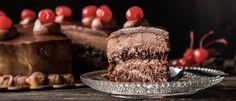 Σπιτική σοκολατίνα που θα ξυπνήσει αναμνήσεις - madameginger.com Dessert Recipes, Desserts, Panna Cotta, Food And Drink, Cheese, Chocolate, Cake, Sweet, Ethnic Recipes