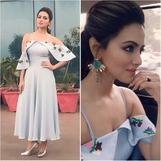 Today's look for Indore promotions Stylish Dresses, Casual Dresses, Fashion Dresses, Short Bridesmaid Dresses, Short Dresses, Western Dresses, Indian Dresses, Bollywood Fashion, Bollywood Style