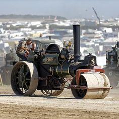 1923 Aveling & Porter 8-ton Roller No.10486 - 'Golly'