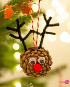 9 pomysłów na naturalne ozdoby choinkowe DIY - zobacz na twojediy.pl Christmas Crafts For Kids, Christmas 2019, Merry Christmas, Christmas Ornaments, Diy Weihnachten, Xmas Decorations, Halloween Diy, Diy Gifts, Etsy Shop