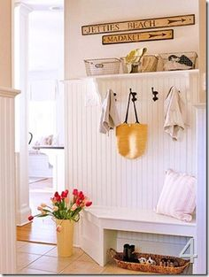 Mudroom Corner Bench Plans