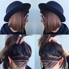 Hidden Undercuts - Hair Cutting - Modern Salon