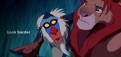 Rafiki..... The Lion King
