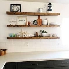 FREE SHIPPING! - Wood Floating Shelves, Primitive Shelf, Floating ...