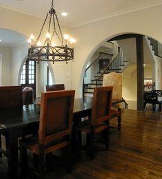 Dining Room - mediterranean - dining room - atlanta - Dresser Homes