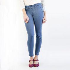 Women's Stretch Skinny-Leg Stone-Wash Jeans Dress Yoga Pants, Women's Pants, Most Comfortable Jeans, Betabrand, Pants For Women, Clothes For Women, Skinny Legs, Stretch Denim, Casual Pants