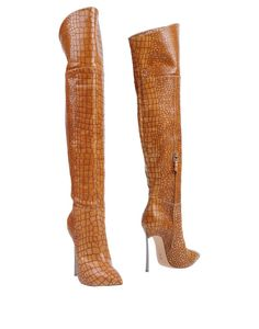 CASADEI Boot Leather High Heel Boots 99478f5d86ec