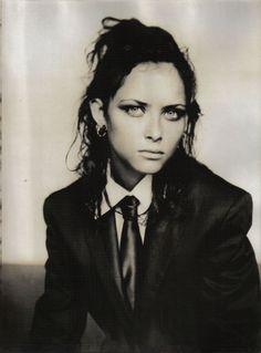 Vogue Italia Mar 2001 - Tasha Tilberg by Paolo Roversi