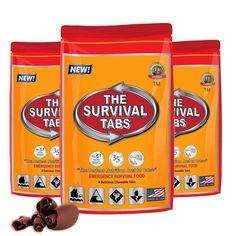 Mini Emergency Survival Kit - Car - Office - Classroom - Food - Lighting - Water #TheSurvivalTabs