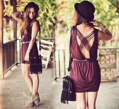 love the back. have a top that has a back just like this. It gives you a sexyback, but keeps you grounded.