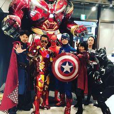 Yoyogi Avengers Assemble.