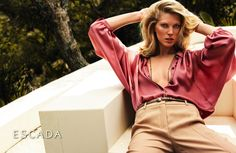 ESCADA the Munich based luxury fashion label announced it is adding e-commerce to its retail network this year.    Alexandra Valtin, Director of Marketing, Communications and Licenses will be co-heading the venture with Director of E-Commerce, Tonio Frühauf.  Before working for Escada in late 2008, Alexandra Valtin was head of Business Development at Hugo Boss and Managing Director at MyTheresa, an online luxury. See more pics...#DelortaeAgency #style #designer #fashion #authentic #luxury…