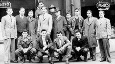 Old School Fashion – Men of the - The Jockey Club 1940s Mens Fashion, Retro Fashion, Vintage Fashion, Men's Fashion, Fashion Images, Vintage Outfits, Fashion Trends, Old School Fashion, Mens Fashion Magazine
